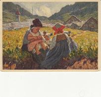 Pro Juventute, Illustrateur L. Rossi, Die Kleinen Mutter,les Petites Mamans, 1929 - Autres