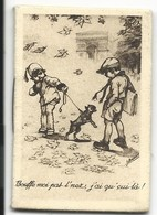 PETIT CALENDRIER ALMANACH - 1933 - A LA BICHE LORRAINE - ILL. GERMAINE BOURET - Tamaño Pequeño : 1921-40