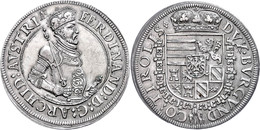 Taler, O.J. (1564-1595), Ferdinand II., Hall, Ss-vz  Ss-vz - Oesterreich
