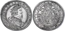 Taler, 1644, Ferdinand III., Graz, Dav. 3189, Herinek 397, Vz.  Vz - Oesterreich