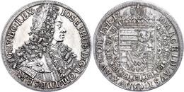 Taler, 1710, Josef I., Hall, Herinek 131, Vz.  Vz - Oesterreich
