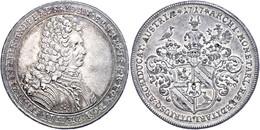 Sprinzenstein, Taler, 1717, Johann Ehrenreich, Dav. 1199, Vz. Selten!  Vz - Oesterreich