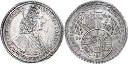 Olmütz, Taler, 1719, Wolfgang Von Schrattenbach, Dav. 1218, Ss-vz.  Ss-vz - Oesterreich