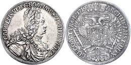 Taler, 1719, Karl VI., Hall, Herinek 338, Ss-vz.  Ss-vz - Oesterreich