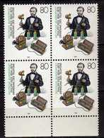 Germany 1984 The 150th Anniversary Of The Birth Of Philipp Reis, Inventor.sciences. 4 X Stamps. MNH - [7] République Fédérale