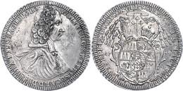 Olmütz, Taler, 1724, Wolfgang Von Schrattenbach, Dav. 1218, Vz.  Vz - Oesterreich