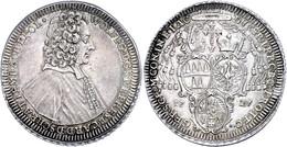 Olmütz, Taler, 1727, Wolfgang Von Schrattenbach, Dav. 1219, Vz.  Vz - Oesterreich