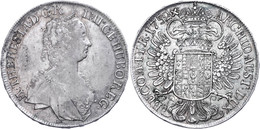 Taler, 1752, Maria Theresia, Hall, Eypeltauer 79, Ss+. - Oesterreich