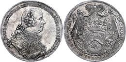 Batthyani, Taler, 1764, Karl, Dav. 1182, Kl. Kr. Auf Dem Avers, F. Vz. - Oesterreich