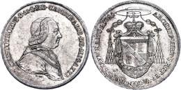 Wien, Bistum, Taler, 1781, Christoph Anton Von Migazzi, Dav. 1267, Hsp., Feine Kratzer, Vz. Auflage Nur 2000 Stück.  Vz - Oesterreich