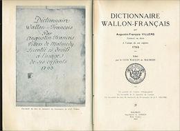Dictionnaire Wallon-français De Malmedy - Dictionaries