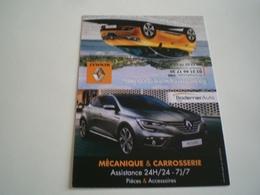 Calendrier De Poche 2017 Voiture ( Petit, Mini, Publicitaire) - Calendari