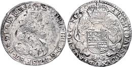 Flandern, Dukaton, 1632, Philipp IV., Delm 276, Schrötlingsfehler, Ss.  Ss - Belgien