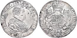 Brabant, Dukaton, 1647, Philipp IV., Antwerpen, Delm 284, Kl. Schrötlingsfehler, Ss.  Ss - Belgien