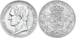 2 1/2 Francs, 1849, Leopold I., KM 11, Ss.  Ss - Belgien