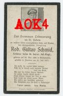 Schmid 1917 BIR 16 Hollebeke Doodsprentje Sterbebild Flandern Langemark Wiederhofen - 1914-18