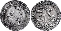 Venedig, 20 Soldi, O.J. (1578-1585), Nicolo Da Ponte, DC, Ss.  Ss - Italien