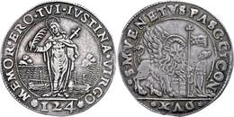 Venedig, Ducato (124 Soldi), O.J. (1585-1595), Pasquale Cicogna, Ss.  Ss - Italien
