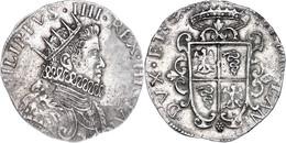 Mailand, Ducaton, 1630, Filippo IV., Dav. 4001, Vz.  Vz - Italien
