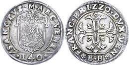 Venedig, Scudo, O.J. (1636), Francesco Erizzo, Dav. 4249, Vz.  Vz - Italien