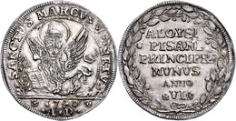 Venedig, Osella, 1740, Alvise Pisani, Anno VI, Vz. Selten!  Vz - Italien