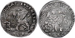 Venedig, Ducato, O.J. (1752-1762), Francesco Loredan, GAC, Kl. Schrötlingsfehler Und Kratzer, Ss.  Ss - Italien