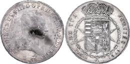 Toskana, Francescone, 1800, Ferdinando III., Revers Berieben, Vz.  Vz - Italien