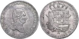 Toskana, Francescone (10 Paoli), 1803, Lodovico I. Di Borbone, Dav. 151, Pagani 6e, Ss-vz.  Ss-vz - Italien