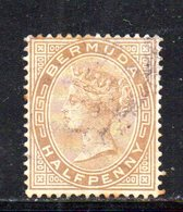 APR220 - BERMUDA 1880,  Yvert N. 15.  (2380A) . Dent 14 Fil .CC - Bermuda