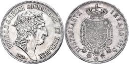 Neapel, 120 Grana, 1818, Ferdinand I., Dav. 169, Ss-vz.  Ss-vz - Italien