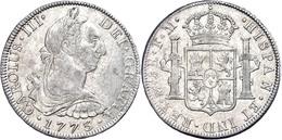 8 Reales, 1773, Karl III., FM, Ss.  Ss - Mexiko