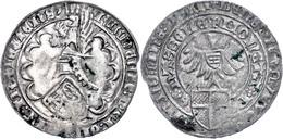 Utrecht, Doppelter Groot (3,81g), O.J. (1394-1423), Friedrich Von Blankenheim, Leichte Prägeschwäche, Grünspanflecken, S - Niederlande