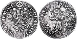 Deventer, Rijksdaalder, O.J. (1619-1637), Dav. 4976, Kl. Schrötlingsfehler, Ss.  Ss - Niederlande