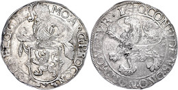 Gelderland, Löwentaler, 1640, Dav. 4849, Prägeschwäche, Vz.  Vz - Niederlande