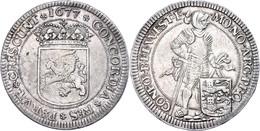 Westfriesland, Ducaton, 1677, Dav. 4910, Ss-vz.  Ss-vz - Niederlande