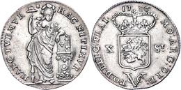 Utrecht, 10 Stuiver, 1786, VOC, Scholten 73, Etwas Wellig, Ss+. - Niederlande