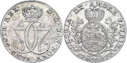 Specisdaler, 1777, Christian VII., Dav. 1308, Ss+. - Norwegen