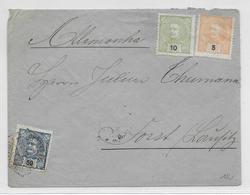 PORTUGAL - 1904 - ENVELOPPE De LISBOA => FORST (ALLEMAGNE) - Lettres & Documents