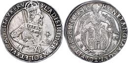 Thorn, Taler, 1633, Wladislaw IV., Gumowski 1610, Dav. 4374, Kratzer Auf Dem Avers, Ss.  Ss - Polen