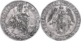 Thorn, Taler, 1638, Wladislaw IV., Gumowski 1612, Schrötlingsfehler Am Rand, Ss+. - Polen