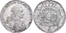 Taler, 1766, Stanislaus August, Dav. 1618, Ss-vz.  Ss-vz - Polen