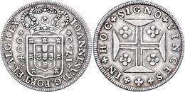 400 Reis, 1750, Joao V., KM 179, Ss.  Ss - Portugal