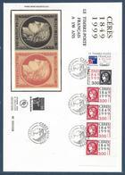 France FDC - Premier Jour - YT Carnet N° 3211 Et 3212 - Grand Format - Cérès - 1999 - FDC