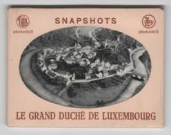 Le Grand Duché De Luxembourg, 10 Snapshots Avec Pochette - Cartoline