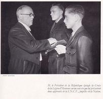 Fascicule Cartonné A4 SNCF 1951 Remise De La Légion D'Honneur (12 Pages Avec Les Discours) - Militari