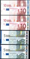 Lot Zu 2 X 5 Und 2 X 10 Euro 2002 Verschnitte. Erhaltung I Und II. - 1949-…: BRD