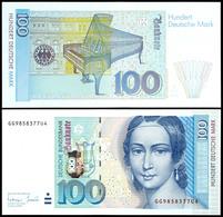 100 Deutsche Mark, Bundesbanknote, 2.1.1996, Serie GG9858377U4, Ro. 310 A, Erhaltung I., Katalog: Ro.310a I - 1949-…: BRD