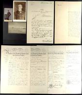 Kleiner Dokumentennachlass Mit 2 Patenturkunden, Dabei Seekadett Datiert 7. April 1891 Und Unter-Lieutenant Zur See Dati - Books, Magazines  & Catalogs