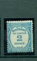 Frankreich / Portomarke. Ziffernzeichnung, Nr. P 61* Falz - 1859-1955 Nuovi