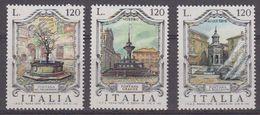 Italy 1979 Fontains 3v ** Mnh (42488D) - 1946-.. Republiek